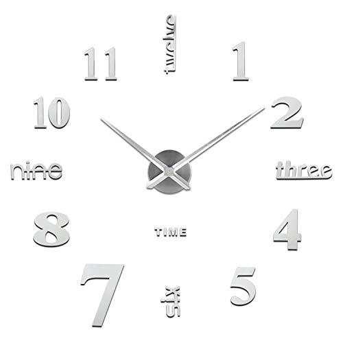 Orologio da Parete Fai-Da-Te, Facile da Montare, Design Moderno, Usato per Decorare...