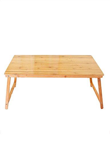 Bambus Computertisch Faltbar einfach Kleiner Schreibtisch im Bett Lernen Tabelle