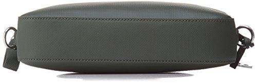Lacoste NF1875DC, Borsa a Tracolla Donna, 16.5 x 5 x 24.5 cm Marron (Rosin)