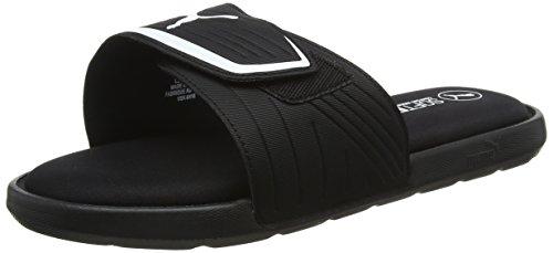 Puma starcat sfoam, scarpe da spiaggia e piscina unisex – adulto, nero black white 03, 42 eu