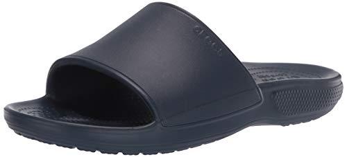 Crocs classic ii slide, scarpe da spiaggia e piscina unisex-adulto, blu (navy 000), 39/40 eu