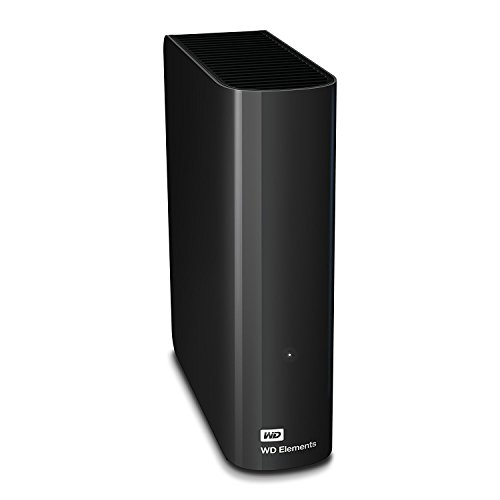 WD Elements Desktop -  Disco duro externo de sobremesa de 3 TB,  color negro