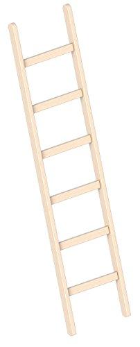 Layher Holzanlegeleiter 1052 6 Stufen Leiterlänge 1,90 m