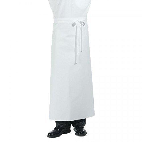 Bistro grembiule bianco-Panettieri-Grembiule-grembiule-100% cotone, 100x 100cm [Service grembiule]