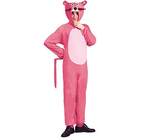 Panther Für Erwachsene Kostüm - Panther Kostüm für Erwachsene Tierkostüm Herrenkostüm Katzenkostüm pink gr. M - L, Größe:M