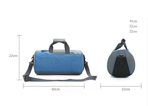 LAIDAYE Nylon Tragbare Umhängetasche Freizeit Reisetasche Sport Und Fitness Sporttasche Fitnesstasche Große Kapazität Handtasche 2