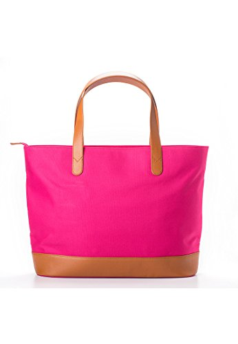 Francpod Francpod New York Series (Chrome Collection) - Shopper Bag, Borsa a mano donna Pink 2 Shopper Bag