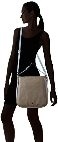 Paul & Joe Sister Damen Shoulder Bag Schultertaschen, 33x32x9 cm Grau (070)