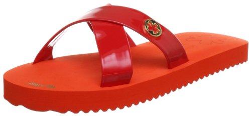 flip*flop original cross 30140, Sandali donna Rosso (Rot (lobster 606))