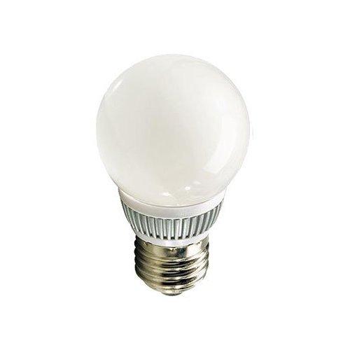 LED Kerze Leuchtmittel Strahler E2727SMD LED Warm Weiß, Transparent–ledga Laxy