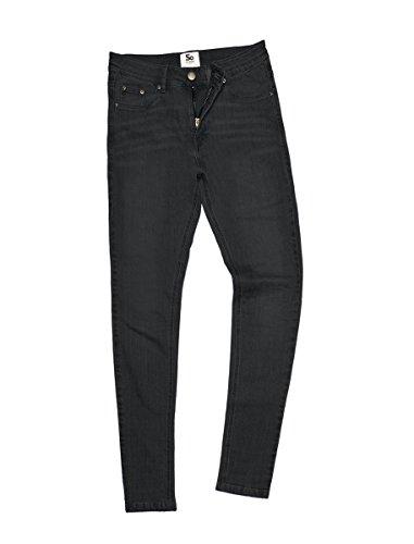 Women's Lara skinny jeans AWDis Denim Streetwear Black