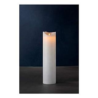 Sirius Home Sara Exclusive Light Decoration Figure geeignet für Verwendung in Innen 1lámpara (S) LED weiß–Dekorative Beleuchtung (1Lampe (S), LED, warmweiß, Light Decoration Figure, weiß, Wachs)
