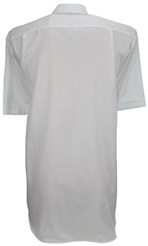 Signature -  Camicia classiche  - Basic - Classico  - Maniche corte  - Uomo Bianco