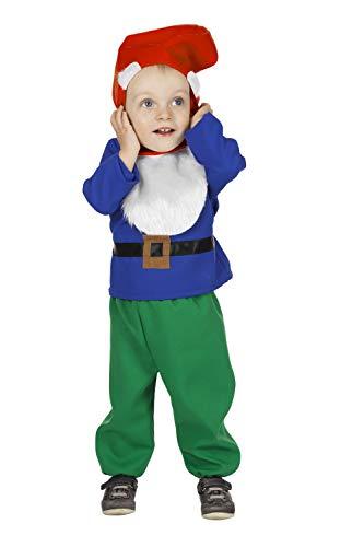 Zwerg Kostüm Für Jungen - Zwerg Kostüm Babykostüme Junge Karneval Fasching Blau Grün Rot