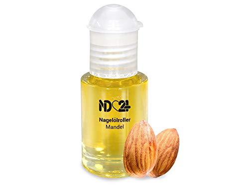 Nagelölroller Mandel - 6ml - als praktischer Roller - Nagelhaut-Öl Nagelpflege-Öl Nagelhautpflege-Öl
