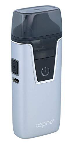 Aspire Nautilus AIO E-Zigaretten Set mit 1000mAh und 4,5ml Tankvolumen - Farbe: silber (Aspire E-zigaretten Sets)