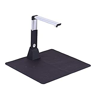 Aibecy Portable Adjustable Book Document Card Camera Image Scanner Converter High Speed USB 10 Mega-Pixel HD 3672 * 2856 OCR Fast Scanning A3 Size with LED Light for Files Video Record Image Capture