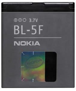 BATTERIE NOKIA ORIGINALE BL-5F pour Nokia N96 d'occasion  Livré partout en Belgique