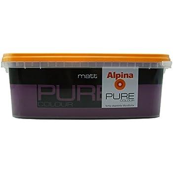 ALPINA Pure Colour, 2,5 L. Wandfarbe, Matt (Aubergine)