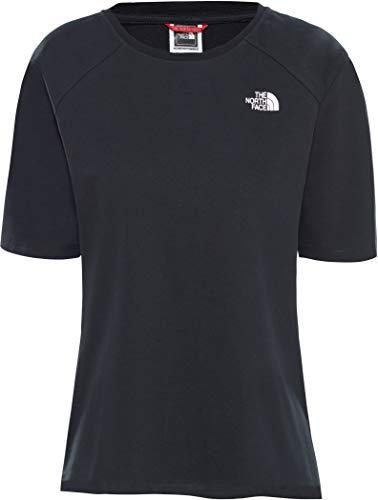 THE NORTH FACE Damen kurzärmeliges Premium Simple Dome T-Shirt, TNF Black, M North Face Dome