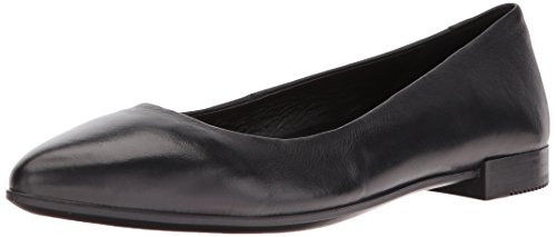 Ecco Damen Shape Textured Ballerina Slipper, Schwarz (Black), 38 EU