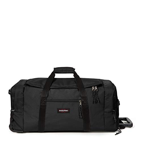 Eastpak Leatherface M + Reisetasche, 87 cm, 69 Liter, Black