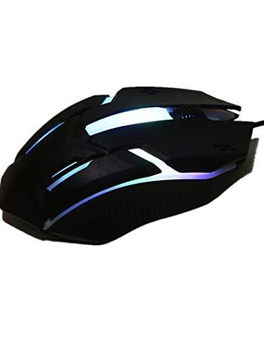 Bescita Gaming Maus Entwurf 1200 DPI USB Verdrahtete Optische Spiel-Mäuse-Maus (A)