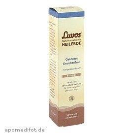 Luvos Getöntes Gesichtsfluid Bronze (2er Pack) - nährt und pflegt die Haut (2x50ml)