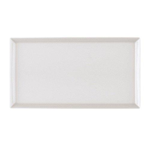 Arzberg-tric-tasse à café-plateau rectangulaire blanc 15 x 20 cm