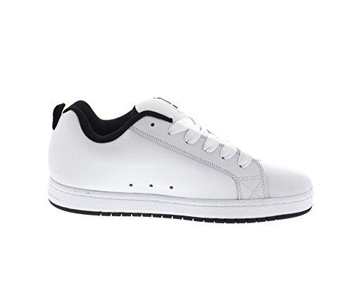 DC Universe Herren Court Graffik Se Sneakers Weiß