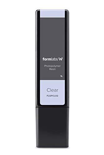 Formlabs Clear Photopolymère, Résine Transparent – matériaux d'impression 3D (1 pièce(s))