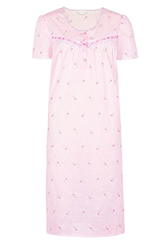 ladies-pink-short-sleeved-embroidered-poly-cotton-nightdress-sizes-8-10-12-14-16-18-20-22-24-26-24-2