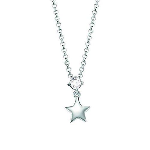 Esprit Kinder Kette Halskette Silber Stern Zirkonia ESNL93161A340
