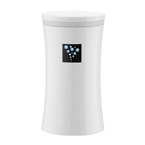 Small-OS 230ml Kapazität Wasser Luftbefeuchter Diffusor Warmes und leuchtendes LED-Nachtlicht Aromatherapie-Nebel für das Auto Office Home - Weiß (Verwendet Diffusor)