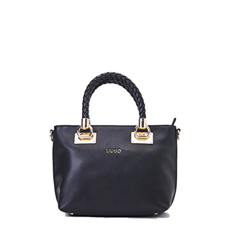brand new cfbb8 b8d3a Borsa LIU JO shopping s anna nero nappa, nuova collezione ...