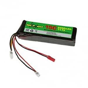 MG Power 11,1 V 2200mAh Batterie Lipo pour Walkera DEVO F12E DEVO 10 7