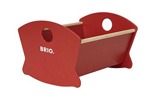 BRIO 30555 - Puppenwiege Holz, bunt