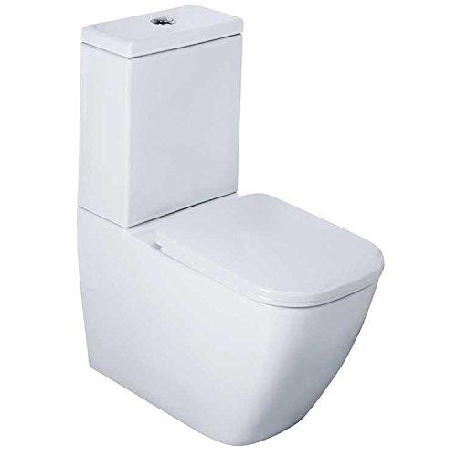 EAGO WC Stand-WC WA390SP spülrandlos