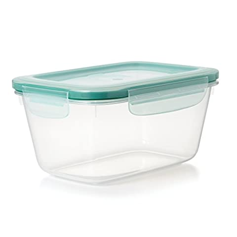 OXO Good Grips 11174900Snap Gallon Container, Plastics, Transparent/Blue, 21x 19.3x 14,73cm