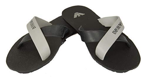 Emporio armani ciabatte incrociate uomo mare piscina beachwear articolo 211516 3p488 slipper