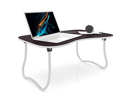 Forzza Zoey Laptop Table Mahogany, Black