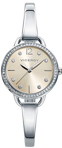 Viceroy Femmes Analogique Quartz Montre avec Bracelet en Acier Inoxydable 42326-75