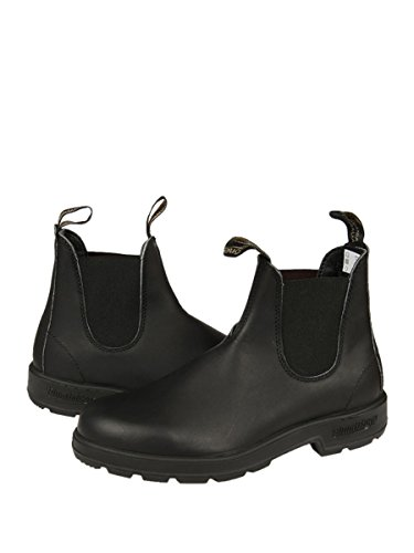 BLUNDSTONE UNISEX BCCAL 0012 0510 POLACCHINO NERO VITELLO ANTICATO FALL-WINTER 2016 Nero