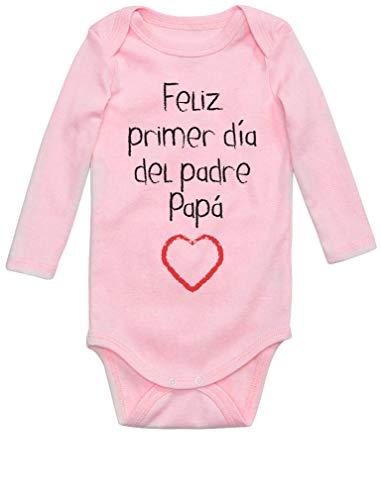 Body Manga Larga bebé - Feliz Primer Día Padre -