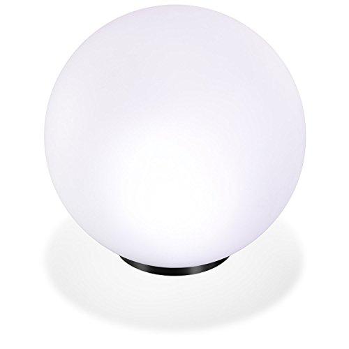 Solar Leuchtkugel 30cm 7 Lichtfarben Dauerlicht oder Wechsellicht 8 Std. Leuchtdauer Solarleuchte esotec 102610