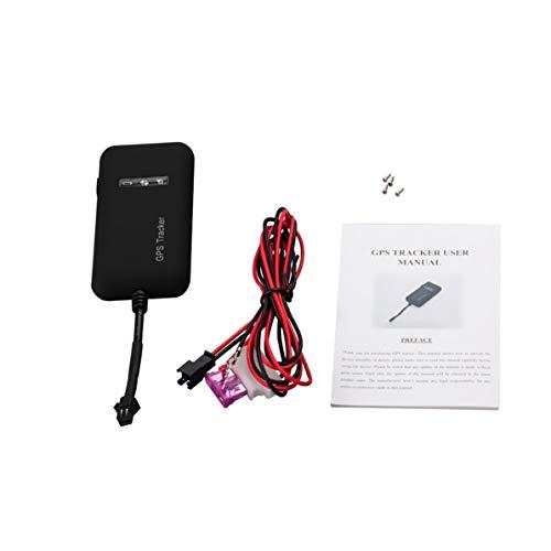 Corneliaa-DE Mini tragbare Auto GPS Tracker 850/900/1800/1900 MHz 4 Band GT02A Echtzeit-Tracking-Gerät Einbruchmeldeanlage (Tragbare Gps)