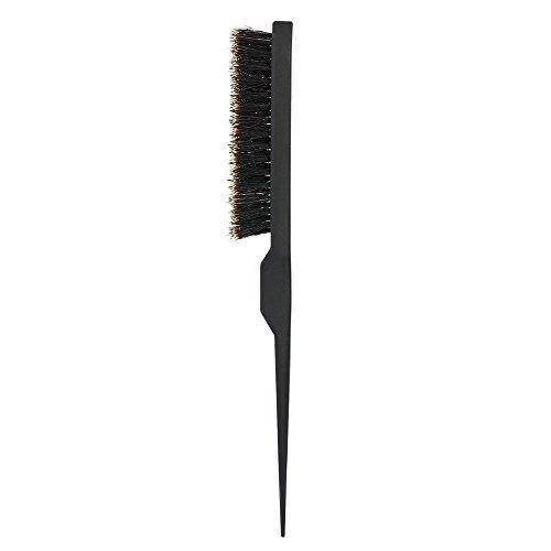 Anself Brosse en soie, antistatique, pour cheveux