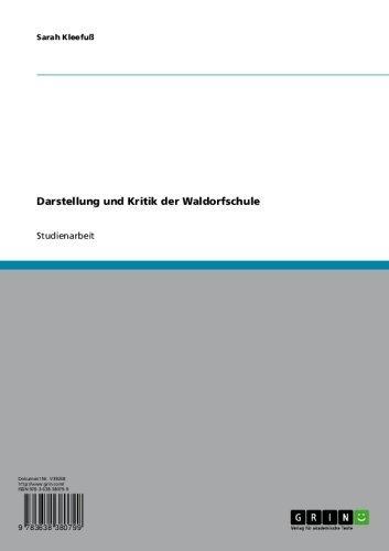 Darstellung und Kritik der Waldorfschule