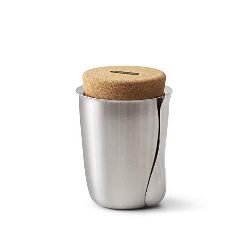 Thermo Pot - Lunchbox, Essen 2 Go, Bento Box -  Edelstahl -  Silber 500 ml  Ø 12,5 cm Höhe 17 cm Bento Essen