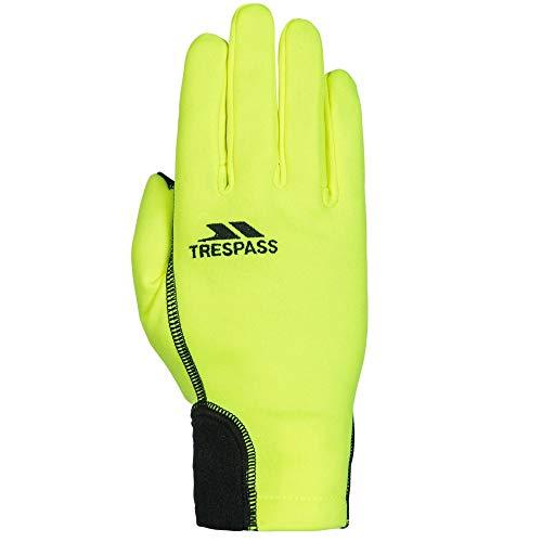 Trespass Unisex Handschuhe Atherton, für Erwachsene (S/M) (Neongelb)